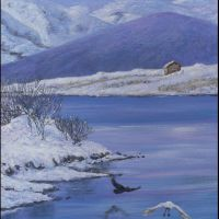Winter in Limnos  size:40*50cm