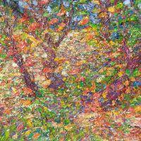 Forest symphony. 60x80.  Acrylic. 2016
